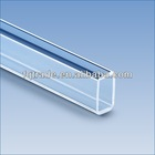 square tube transparent quartz