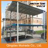 2 levels auto underground vertical parking lift