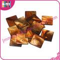 Sa026 cáscara de color marrón del azulejo del mosaico, madre primas de conchas de perlas