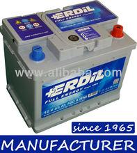 """12 V 55 Ah MF Maintenance Free """"Erdil Brand"""" Car Battery from manufacturer"""