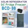 BCD-98 DC Solar refrigerator,DC Solar Fridge Freezer 98L