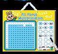 E1015 2014 nuevos juguetes para niños, Niño y el profesor de aprendizaje matemáticas multiplicación magnética juegos de mesa juguetes