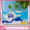 Soyou distributors wanted virgin pulp made 3ply touch comfortable facial tissue, color facial tissue