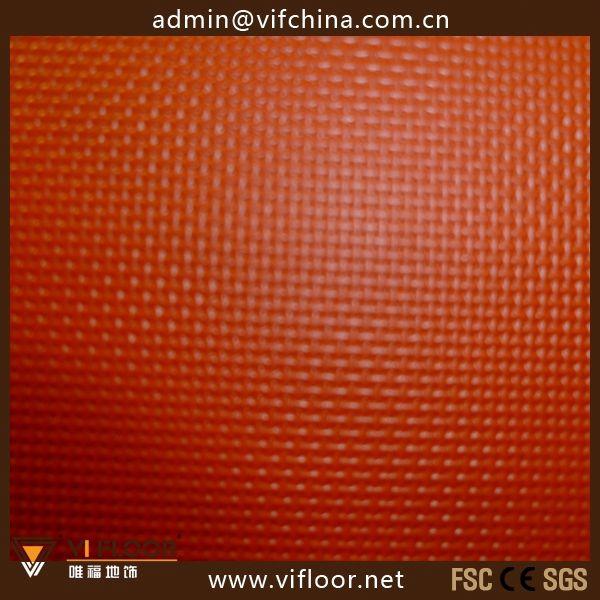 Portable PVC Basketball Flooring With Foam Bottom