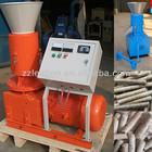 2014 hot sale flat die biomass fuel and feeds pellet making machine
