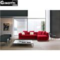 rojo de terciopelo sofá de la tela la mejor venta de muebles sofá de la tela gps6060 sofá de diseño