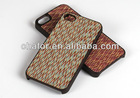 Hot selling Tabu wood veneer phone case for iphone