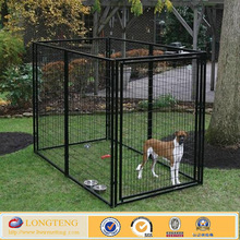 welded mesh style 10x10x6ft big metal dog house ( for sale )