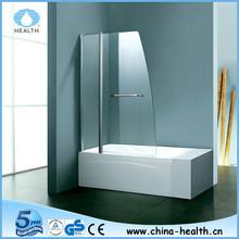 Bathtub folding shower screen JP501