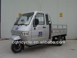 3 wheelers cargo tricycle with cabin