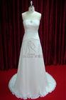 Hot Sale! Plus Size New Fashion Elegant A Line Chiffon Bohemian Style Wedding Dress 2014
