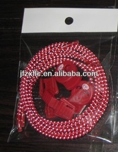 Hot Selling Polyester Elastic Shoe laces with Locks, Elastic Shoelaces With Locking System