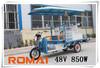 three wheel rickshaw in India