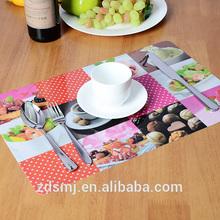 hot sale new design PP popular table mat
