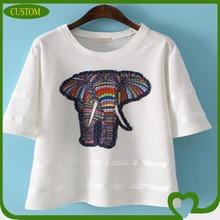 cheap fashion embroid woman tshirt 2014
