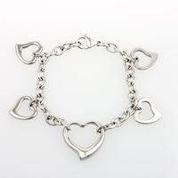 China Supplier Steel Fashion Magnetic Bracelet Heart Bracelet for Women