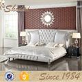 Lv-b9022 diseño mobiliario moderno / latest cama diseños / latest cama doble diseña