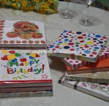 disposable eco kids party paper napkin