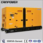 Hot sale 350 KVA Cummins used Diesel Silent type Generator Set 50HZ 1500RPM/MIN, 380/400/415/440V 3PH Made in China