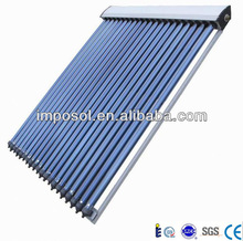 solar water heating system vacuum tube flat solar collector