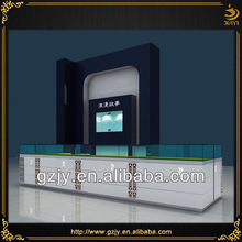High end glass showcase watch wood,watch furniture