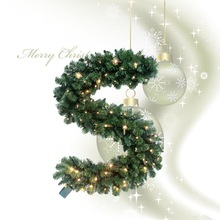 2014 PVC Christmas Decoration for House Hall or Stage