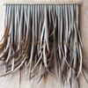 Cheap Extrusion decoration plastic synthetic thatch