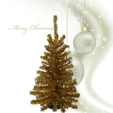 45cm Small Tinsel Artificial Christmas T ree
