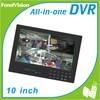Cheap DIY 4CH H.264 DVR Home Surveillance Real time DVR Remote control standalone DVR kit