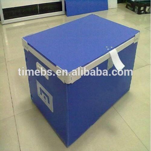 Durability corrugated plastic tool chest produce