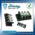 Brillante tb-060 de montaje en panel 600v 60a de barras de cobre terminal de la tira