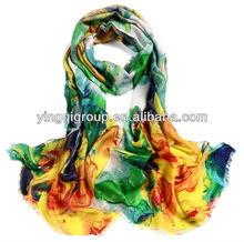 100% pure wool scarf series-- dobby, any printed you like, comforter & wool muffler, Beautiful, Simon Dexter, Fashion