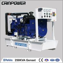 250 KVA Diesel GenSet 50HZ 1500RPM/MIN, alternator 220v