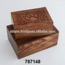Hottest Pet Cremation Urn Wooden Funeral Urn