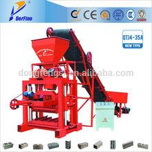 QTJ4-35 hollow block making machine,brick manufacturing equipment factory for sale