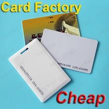 Plastic 125khz/13.56mhz printable RFID access smart card