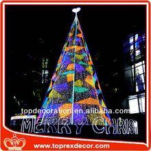 Modern Art 3d led decorative christmas tree lighting
