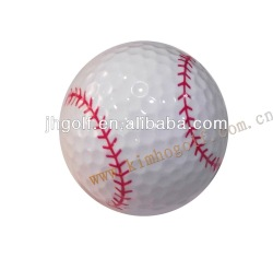 2 pieces funny Sport golf ball