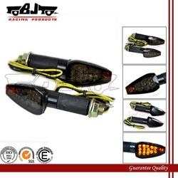 BJ-SL-003L Black Housing smoke Lens 15 LED Amber Turn Signal for XJR1300 / XJ6 / V-max / MT-01 / MT-03 / TDM900 / FZ1 / FZ6 /YBR