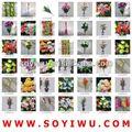 Orquídea artificial arranjo atacadista de yiwu mercado para flores artificiais& bina