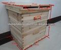 volume de madeira do abeto 2 níveis de colméia de abelhas