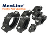 Plastic Flexible Coupling Clamp on Pipe Quick Coupling