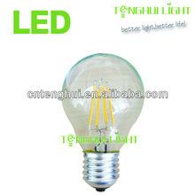 Newest design led filament bulb,4w A60 led filament lamp