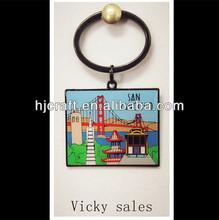 Beautiful pendan/keychain/ Holiday leisure touris mcartoon 2014/souvenir gifts/china supplier/Wholesale custom crafts
