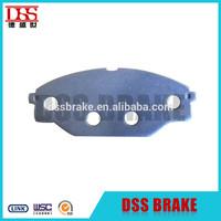 Disc brake pad backing plate