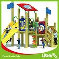 Design profissional de madeira ao ar livre crianças Commericial usado equipamentos de Playground para venda LE MZ.018