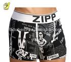 95%cotton 5%spandex printing men's boxer, fashion men underwear,ultra size men boxer short