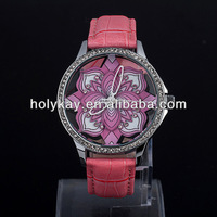 2014 delicated design new product elegant watch made in china with multiple silicone band