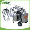 Rotary vane vacuum pump type penis milking machine