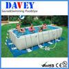 2014 new wholesale Intex Family Rectangular bracket frame pool / above ground swimming pool / PVC intex swimming pool